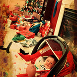 Rowen's first Christmas!