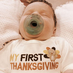 Rowen's first Thanksgiving.