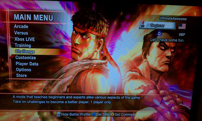 ... is unfamiliar territory for someone with Street Fighter style reflexes.